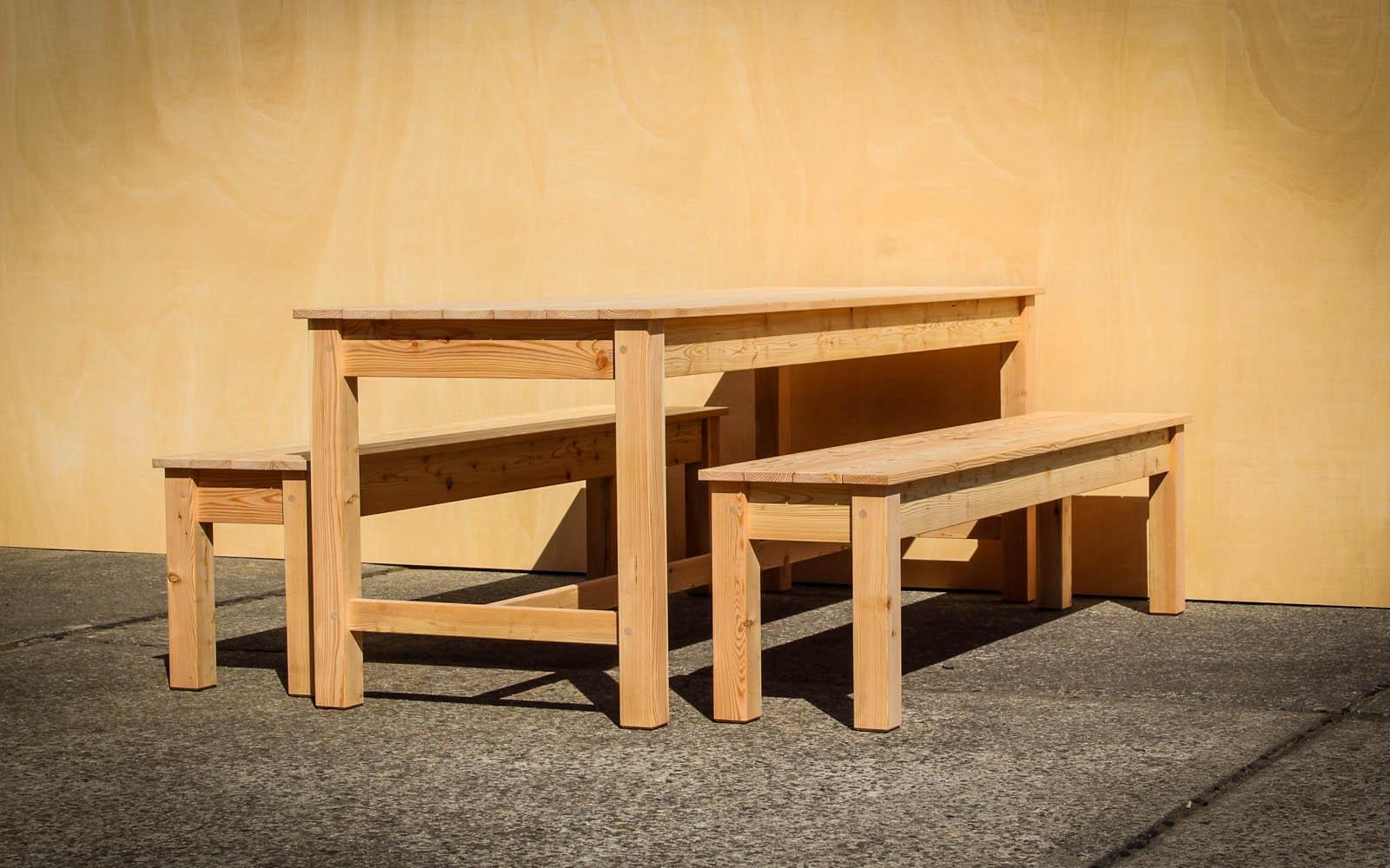 NEUBERGA - neue Gartenmöbel, Holzbänke & Gartenhäuser aus Berlin