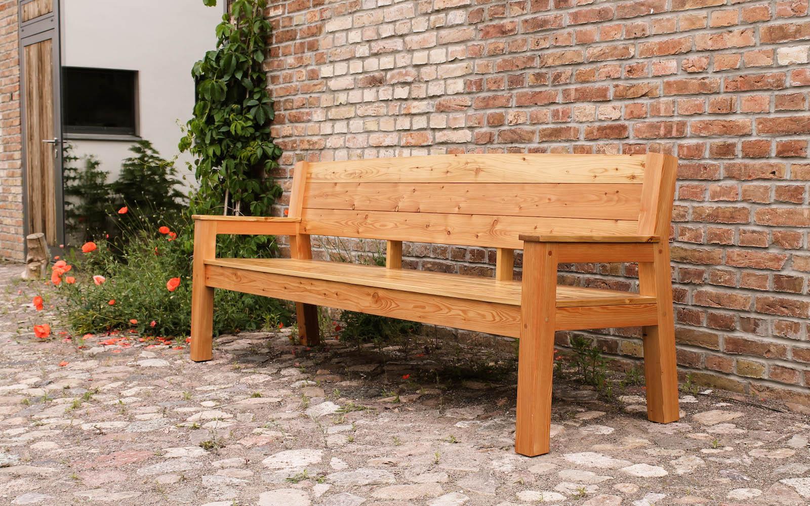 Holzbank Garten h a u s b a n k sitzbank parkbank gartenbank aus